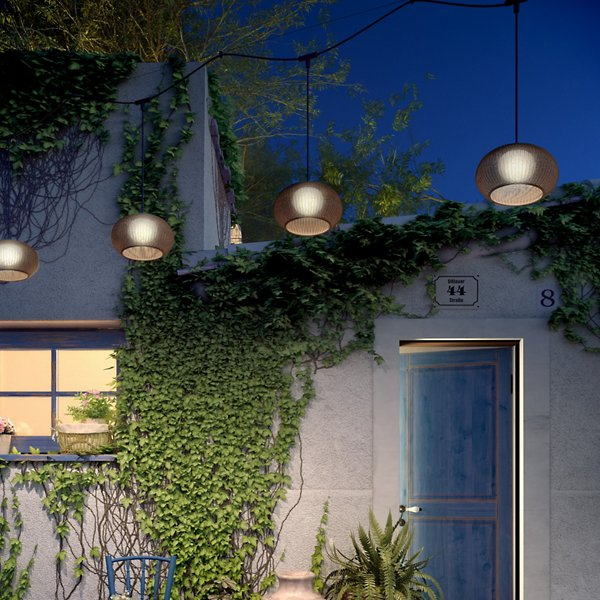 Garota LED Outdoor Cantenary Pendant