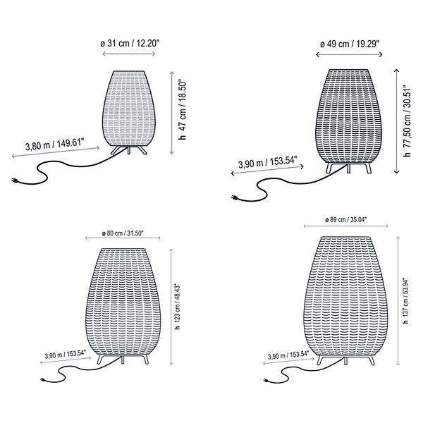 Amphora Outdoor Floor Lamp
