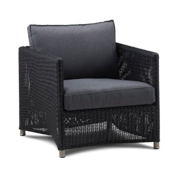 Diamond Weave Lounge Chair