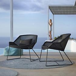 Breeze Lounge Chair (Black) - OPEN BOX RETURN