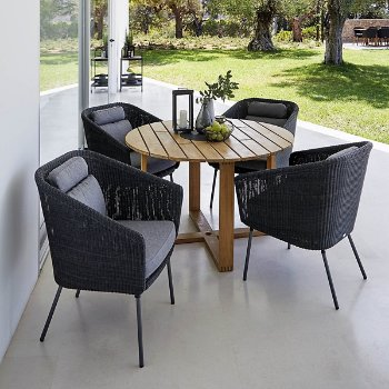 Mega Dining Chair, in use