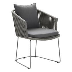 Moments Cushion for Dining Chair (Sunbrella Grey) - OPEN BOX
