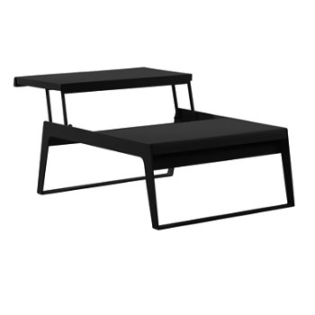 element rectangle coffee table by calligaris at