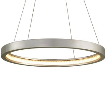 Shown in Silver Leaf finish, 28-In. Diameter