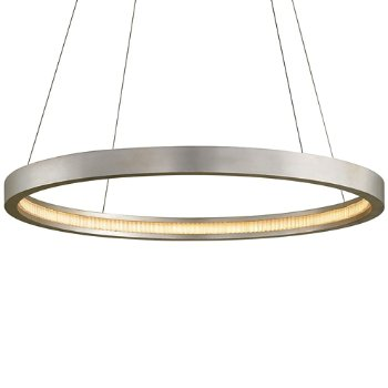 Shown in Silver Leaf finish, 36-In. Diameter