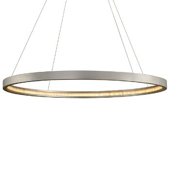 Shown in Silver Leaf finish, 56-In. Diameter