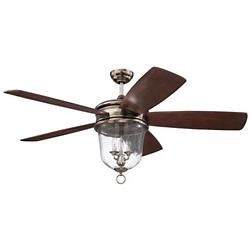 Fredericksburg Ceiling Fan (Silver) - OPEN BOX RETURN