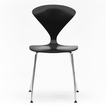 Shown in Ebony Lacquer Seat, Chrome Base option