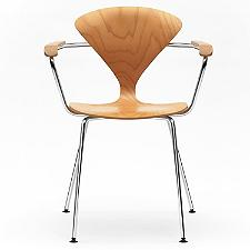 Cherner Metal Base Armchair