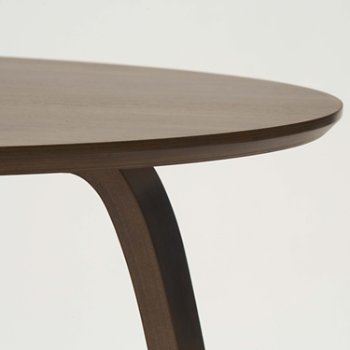 Shown in Classic Walnut Top & Legs, Detail view