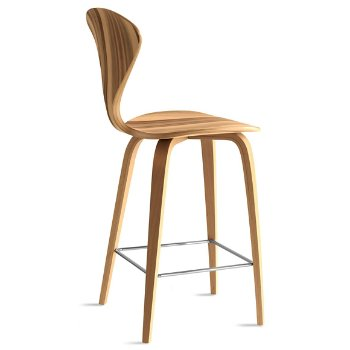 Shown in Red Gum Seat, Natural Beech Legs