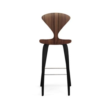 Shown in Classic Walnut Seat with Ebony Lacquer Legs