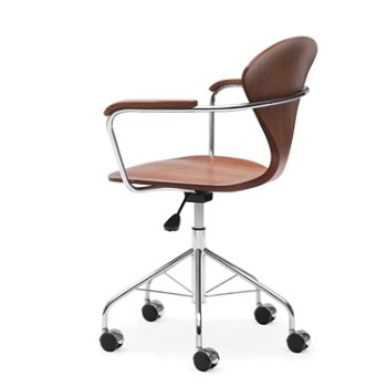 Cherner Task Armchair, Side View