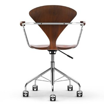 Cherner Task Armchair, Rear View