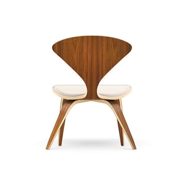 Cherner Seat and Back Upholstered Lounge Chair