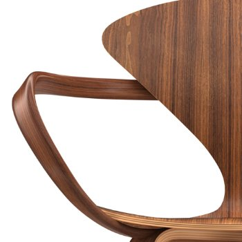 Shown in Classic Walnut, Detail view
