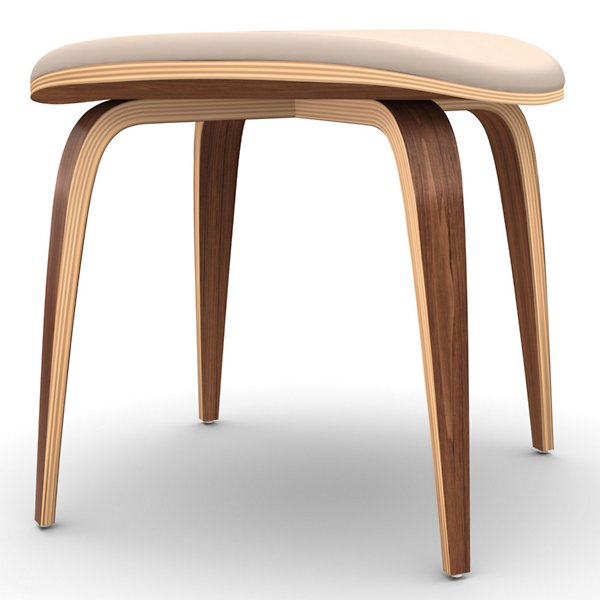 Cherner Ottoman with Seat Pad