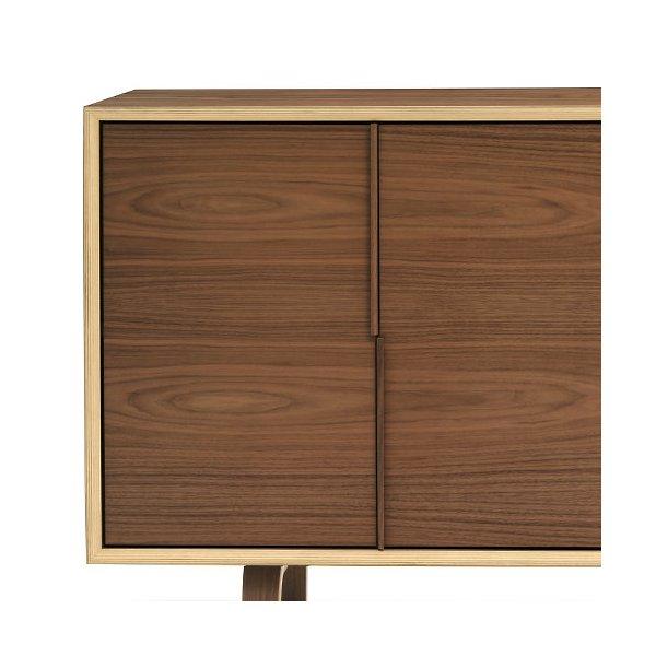 Multiflex 2-Door, 2-Drawer File Cabinet
