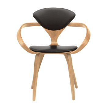 Shown in Natural Beech, Vincenza Leather VZ-BLCK