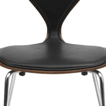 Shown in Ebony Lacquer finish, Detail view