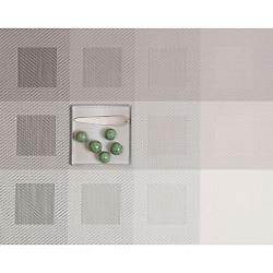 Engineered Squares Tablemat (Light Grey) - OPEN BOX RETURN