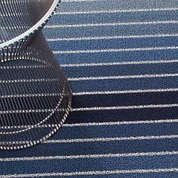 Block Stripe Shag Indoor/Outdoor Mat