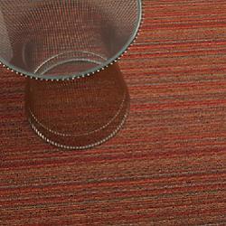 Skinny Stripe Shag Outdoor Mat (Orange/Big) - OPEN BOX