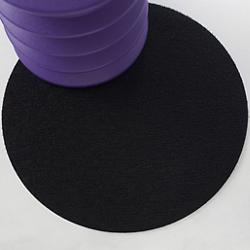 Dot Shag Indoor/Outdoor Mat (Black) - OPEN BOX RETURN