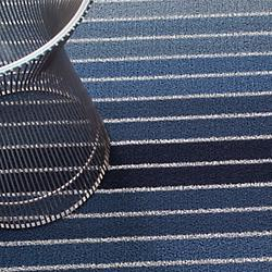 Block Stripe Indoor/Outdoor Mat (Denim/Utility) - OPEN BOX