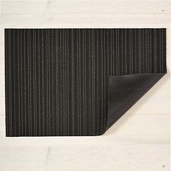 Skinny Stripe Shag Outdoor Mat (Steel/Big Mat) - OPEN BOX