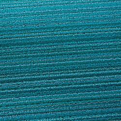 Skinny Stripe Shag Runner (Turquoise) - OPEN BOX RETURN