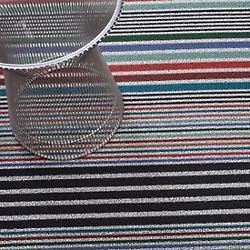 Mixed Stripe Shag Door Mat (Candy) - OPEN BOX RETURN