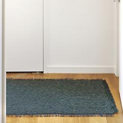 Market Fringe Woven Floor Mat(Pacific/58in x 84in)-OPEN BOX