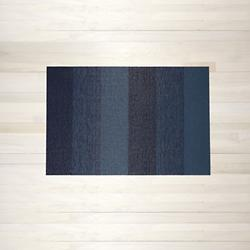 Marbled Stripe Shag Door Mat