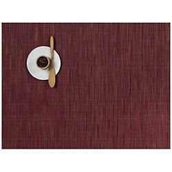 Bamboo Placemat by Chilewich (Cranberry) - OPEN BOX RETURN