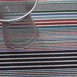 Mixed Stripe Shag Door Mat