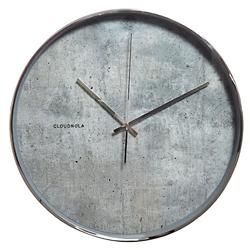 Structure Cement Wall Clock