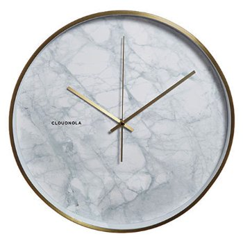 Structure Marble Wall Clock
