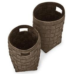 Hub Storage Baskets Set of 2