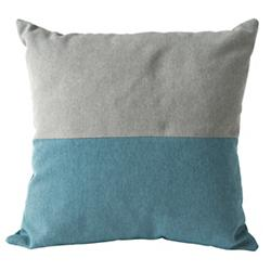 Clips Bicolor Throw Pillow