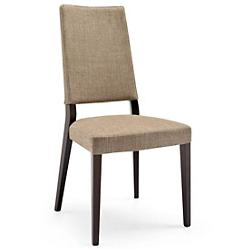 Sandy Upholstered Wooden Chair
