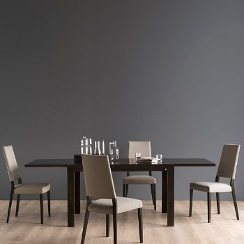 Sandy Skuba Chair with New Smart Extending Dining Table