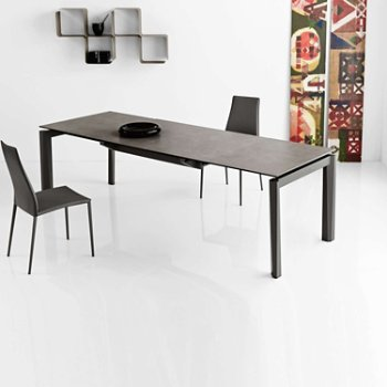 Shown in Cement Ceramic with Matte Grey leg finish
