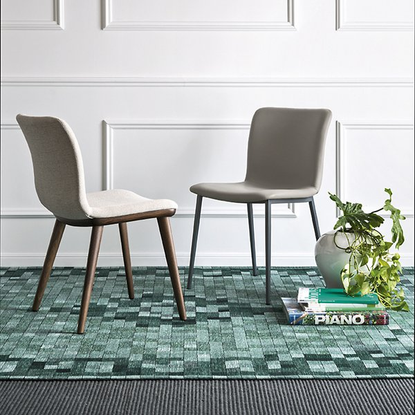Annie Upholstered Metal Chair
