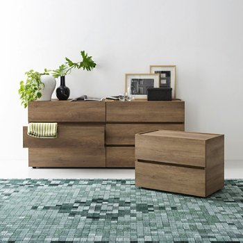 Huron Dresser with Huron Nightstand