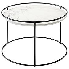 Atollo 24.5-In. Diameter Side Table