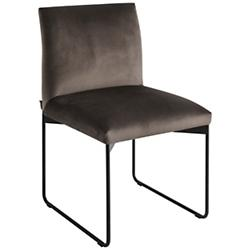 Gala Upholstered Metal Chair