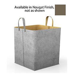 Elliot Storage Basket (Grey/Nougat) - OPEN BOX RETURN