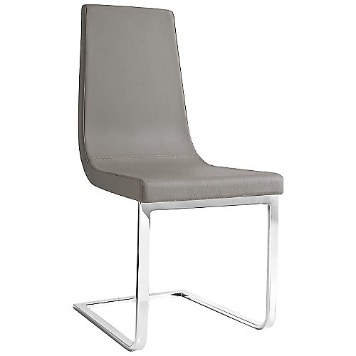 cruiser chair cantilever base with leather by connubia at lumens com