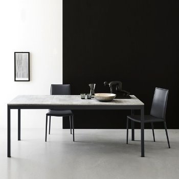 Snap Extension Dining Table with Boheme Chair
